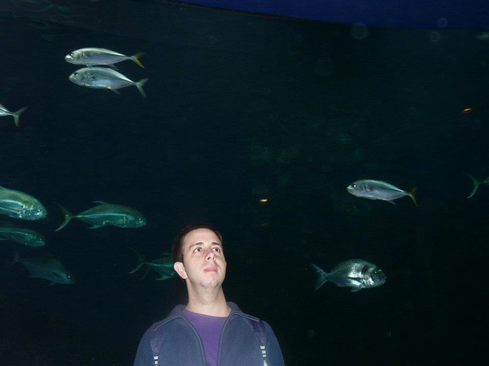 David Sanchez Rodriguez en L'Oceanografic