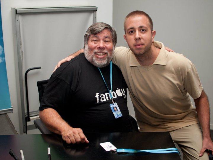 Con Steve Wozniak